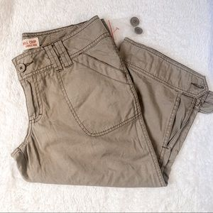 NWT Mossimo Supply Y2K Cargo Cropped Pants